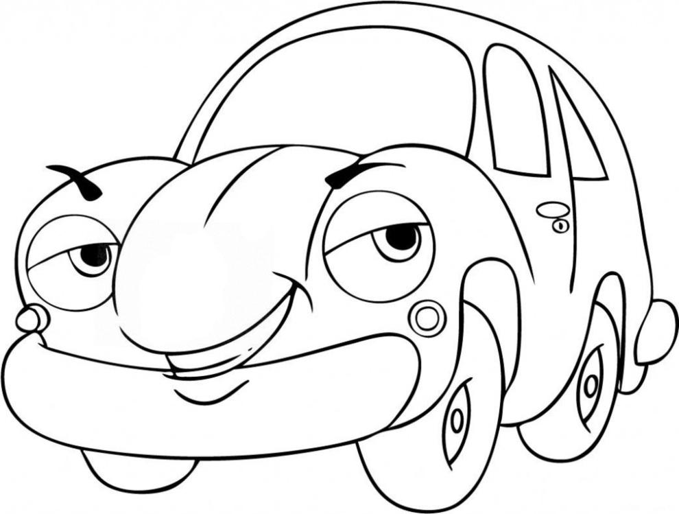disegno-auto-animata-da-colorare
